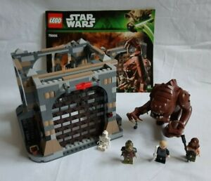 LEGO® Star Wars - 75005 Rancor Pit - mit Anleitung - Gebraucht