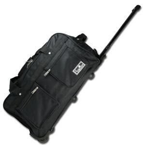 50L Reisetasche Trolley Sporttasche Gepäcktasche Trolleytasche Koffer 2 Rollen