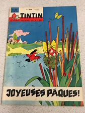 TINTIN  N°704 14e ANNEE 19 AVRIL 1962 REVUE MAGAZINE VINTAGE