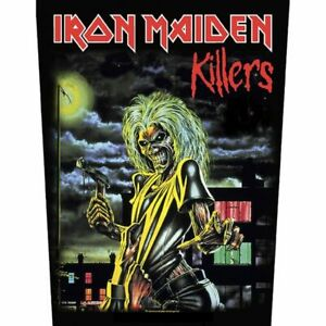 """IRON MAIDEN - """"KILLERS"""" - LARGE SIZE - SEW ON BACK PATCH"""
