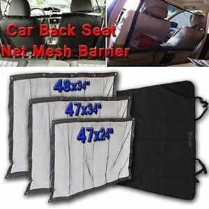 Zone Tech Back Seat Car Pet Mesh Net Cage Barrier Dog Blanket Hammock Mat Safety
