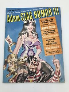 3rd ADAM BOOK STAG HUMOR (1968) remarkable condition for age, Free Shipping!!