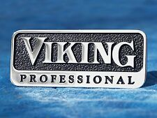 "Viking Professional OEM 3"" Metal Emblem Logo Badge Self Adhesive Nameplate Trim"