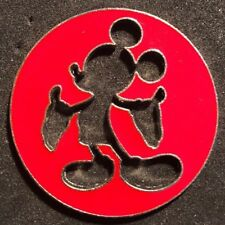 Disney Wdw Silhouette Cut Out Mickey Mouse Pin