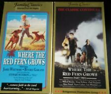 Where the Red Fern Grows & Where the Red Fern Grows Part Two (VHS, 1991)
