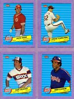 1986 FLEER FUTURE HALL OF FAMERS set - Ryan, Rose, and more - FREE SHIPPING!