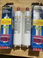 Set Of 2 New Filtrete Maximum Under Sink Replacement Water Filter 3US MAX F01