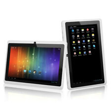 7 Inch Android Quad-Core 4.4 1+8GB Tablet PC HD Camera Bluetooth WiFi Phablet UK