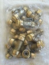 """PLUMBING LOT OF 10 PIECES 1/2"""" SHARKBITE STYLE PUSH FIT TEES"""