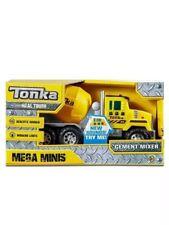 Tonka Trucks- Cement Mixer, Dump Truck Set Of 2