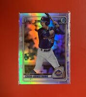 Pete Crow-Armstrong 2020⚡️Bowman Draft 1st Chrome Refractor #BD-72⚡️INVEST📈