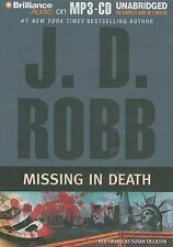 Missing in Death by J. D. Robb (2009, MP3 CD, Unabridged)