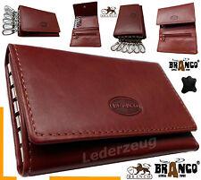 Schlüsseltasche Branco Leder Geldbörse  Schlüsseletui Autoschlüssel Tasche Börse