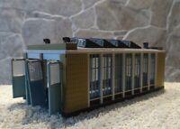 Vollmer   47605  (Spur N)  E-Lokschuppen mit Torschließmechanik - fertig gebaut