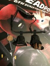 Hot Toys Dead Pool 2 MMS490 Black Harness & Holsters loose 1/6th scale