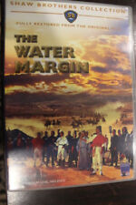 THE WATER MARGIN RARE DELETED PAL CHINESE MOVIE DVD DAVID CHIANG SHAW BROTHERS