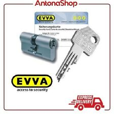 Cilindro di sicurezza + 3 chiavi NON DUPLICABILI anti perforazione o sonda EVVA