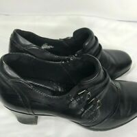 Michael M. black loafer size 10 M leather upper