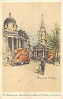 BR81156 st martins in the fields national gallery london postcard painting    uk
