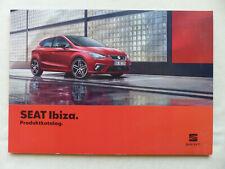 Seat Ibiza FR Black Edition MJ 2020 - Prospekt Brochure 08.2019