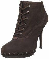 Madison Harding Women's Size 9 M US Clay Lace-Up High Heel Ankle Boot, Brown