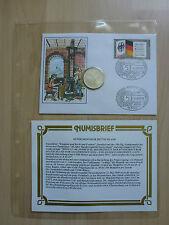 """Numisbrief Deutschland """"Einigkeit und Recht und Freiheit"""" Michel Nr. 1421 / 5 DM"""
