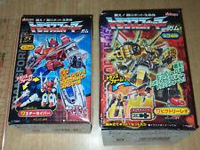 Kabaya Transformers Gum Mini Part 1 & 4 Saber & Victory Leo Set Box C8