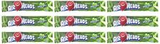 Airheads Taffy Candy Bars, Green Apple, 0.55 Oz /15.6 G (Pack of 72)