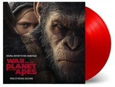 ORIGINAL SOUNDTRACK WAR FOR THE PLANET OF THE APES (MICHAEL JACKE) 2 LP RED