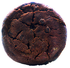 Double Chocolate Chip Cookies  6 large 4 inch by 1/2 thick