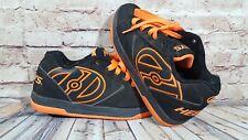 Heelys  Black Orange 770506 Kids Skates shoes Youth Size 6