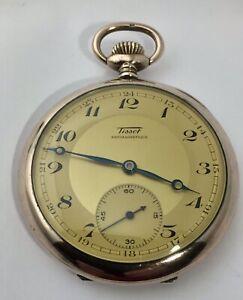 Tissot Silver Pocket Watch 1943 - High Quality.