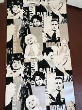 Vintage Retro United DeSoto Pop Art Hollywood Movie Stars Wallpaper Rare Estate