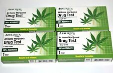 4 DRUG TEST At Home Marijuana Assured Drug Test NEW In Box FREE Shipping
