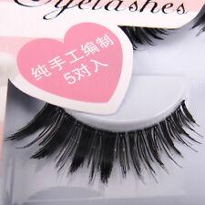 Sale! NEW IHW-35 5 pairs Popular Winged Thick Cross False eyelashes eye lashes
