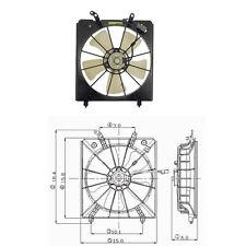 Cooling fan Assembly  (Radiator Fan) Fits: 1999 - 2003 Acura TL V6 3.2L