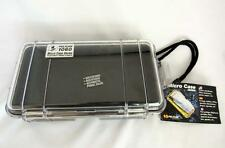 Pelican Micro Case Series #1060,  Clear with Black Rubber Padding * NEW *