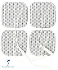 8 PC SQUARE REPLACEMENT ELECTRODE MASSAGE PADS FOR INTENSITY 10 COMPATIBLE