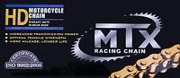 Yamaha WR125R WR125X rear drive chain (2009-2014) 428x134 MTX heavy duty GOLD