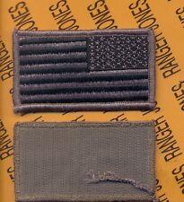 "United States of America USA ACU flag COMBAT Side patch 3 1/4"" m/e"