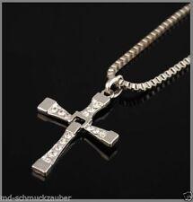 Modeschmuck-Halsketten & -Anhänger mit Strass-Hauptstein für Herren