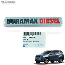 Chrome Duramax Emblem Logo Decal Genuine Fits Chevrolet Trailblazer 2012 2016