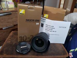 Nikon Weitwinkel Objektiv 10-24mm AF-S DX
