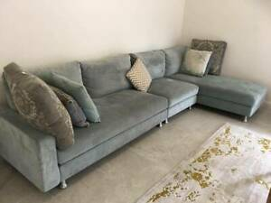 King Furniture Couch, acqua luxury - great condition