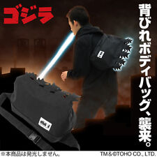 Godzilla sling bag with dorsal fin Cosplay Costume Godzilla Store Backpack