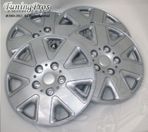 """4pcs Wheel Cover Rim Skin Covers 15"""" Inch, Style 026 15 Inches Hubcap Hub Caps"""