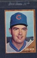 1962 Topps #191 Jim Brewer Cubs EX 62T191-50616-1