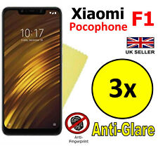 3x HQ MATTE ANTI GLARE SCREEN PROTECTOR COVER GUARD For Xiaomi Pocophone F1
