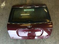 Mini One/Cooper/S (R50/R53 Hatchback) Tailgate, No Spoiler Velvet Red