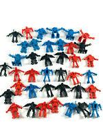 Lot (40) VTG Spaceman Robot Mini Toys muscle MIMP space monster figures